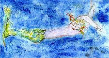Mermaid 4 by Roberta Ann Busard (Giclee Print)