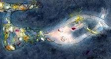 Mermaid 5 by Roberta Ann Busard (Giclee Print)