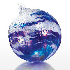 Wonderful World by Tom Stoenner (Art Glass Ornament)