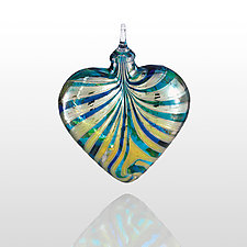 Sea of Love by Glass Eye Studio (Art Glass Ornament)