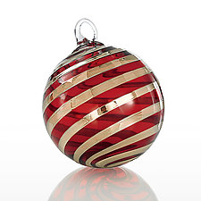 North Pole by Glass Eye Studio (Art Glass Ornament)