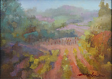 Martorana Winery by Cathy Locke (Oil Painting)