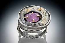 Aria Ring by Nina Mann (Silver & Stone Ring)