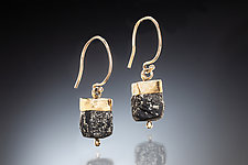 Amara Earrings by Nina Mann (Gold & Stone Earrings)