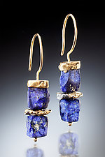Rumi Earrings by Nina Mann (Gold & Stone Earrings)