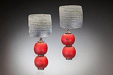 Charlevoix Earrings by Nina Mann (Silver & Bead Earrings)