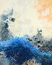 Swell by Marlene Sanaye Yamada (Paintings & Drawings Acrylic Paintings)