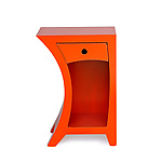 Side Table in Vibrant Colors by Vincent Leman (Wood Side Table)