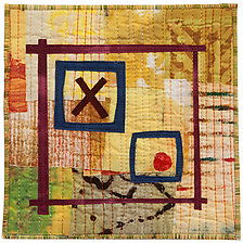 Six by Six I by Catherine Kleeman (Fiber Wall Hanging)