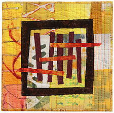 Six by Six IV by Catherine Kleeman (Fiber Wall Hanging)