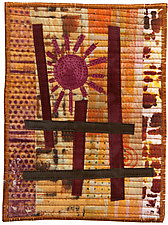 Five by Seven II by Catherine Kleeman (Fiber Wall Hanging)