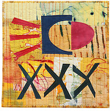 Six by Six III by Catherine Kleeman (Fiber Wall Hanging)