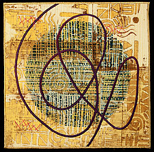 Scribble XVII by Catherine Kleeman (Fiber Wall Hanging)