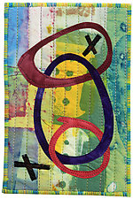Four by Six II by Catherine Kleeman (Fiber Wall Hanging)