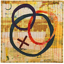 Six by Six II by Catherine Kleeman (Fiber Wall Hanging)