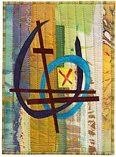 Five by Seven VIII by Catherine Kleeman (Fiber Wall Hanging)