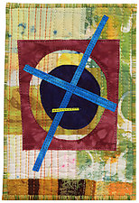 Four by Six VII by Catherine Kleeman (Fiber Wall Hanging)