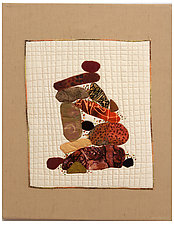 Stone Cairn I by Catherine Kleeman (Fiber Wall Hanging)