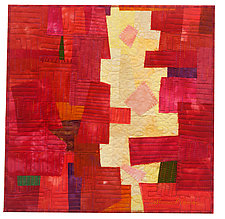 The Narrows by Catherine Kleeman (Fiber Wall Hanging)