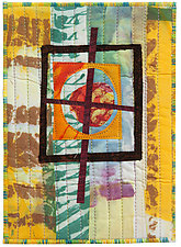Five by Seven III by Catherine Kleeman (Fiber Wall Hanging)