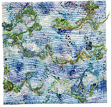 Water by Catherine Kleeman (Fiber Wall Hanging)