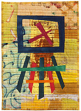 Five by Seven I by Catherine Kleeman (Fiber Wall Hanging)