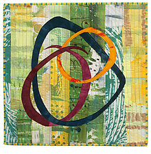Foot Square II by Catherine Kleeman (Fiber Wall Hanging)