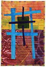 Four by Six I by Catherine Kleeman (Fiber Wall Hanging)