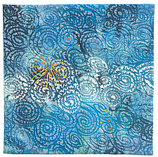 Air by Catherine Kleeman (Fiber Wall Hanging)