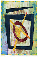 Four by Six III by Catherine Kleeman (Fiber Wall Hanging)