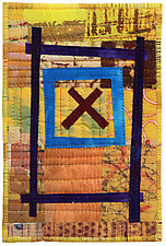 Four by Six IV by Catherine Kleeman (Fiber Wall Hanging)