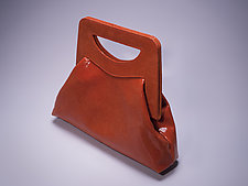 Clara Handbag by Michelle  LaLonde  (Leather Purse)