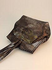 Elisa Evening Bag-Metallic Mix by Michelle  LaLonde  (Leather Purse)