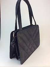 Ava Handbag by Michelle  LaLonde  (Leather Purse)