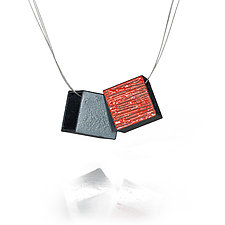 Double Large Boxy by Lou Ann Townsend and Mary Filapek (Metal Necklace)