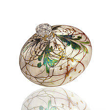 Evergreen Fantasy by Bryce Dimitruk (Art Glass Ornament)