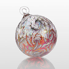 Plumeria by Bryce Dimitruk (Art Glass Ornament)