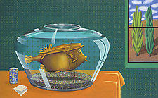 The Cowfish 2 by Jane Troup (Giclee Print)