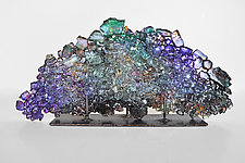 Dreamscape 68 by Mira Woodworth (Art Glass Sculpture)