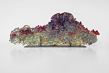 Dreamscape 86 by Mira Woodworth (Art Glass Sculpture)