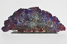 Dreamscape 72 by Mira Woodworth (Art Glass Sculpture)
