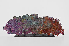 Dreamscape 67 by Mira Woodworth (Art Glass Sculpture)