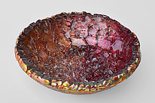 Fire Bowl by Mira Woodworth (Art Glass Bowl)