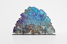 Dreamscape 70 by Mira Woodworth (Art Glass Sculpture)