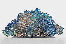 Dreamscape 69 by Mira Woodworth (Art Glass Sculpture)