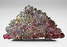 Dreamscape 38 by Mira Woodworth (Art Glass Sculpture)