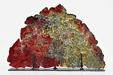 Dreamscape 79 by Mira Woodworth (Art Glass Sculpture)
