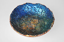 Meyers Bowl by Mira Woodworth (Art Glass Bowl)