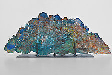 Dreamscape 77 by Mira Woodworth (Art Glass Sculpture)