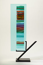 Spring Sunrise Carpet I by Alicia Kelemen (Art Glass Sculpture)